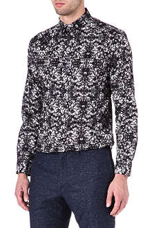 PS BY PAUL SMITH Slim-fit Firswood floral print shirt