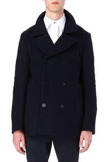 PS BY PAUL SMITH Wool-cashmere blend peacoat