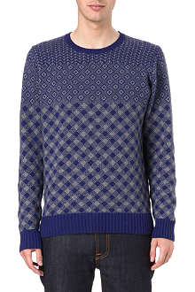 PS BY PAUL SMITH Instarsia crew-neck jumper