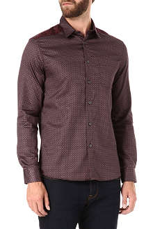 PS BY PAUL SMITH Geometric panelled shirt