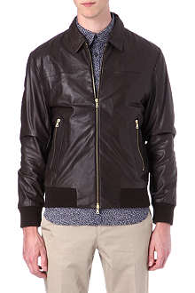 PS BY PAUL SMITH Blouson leather jacket