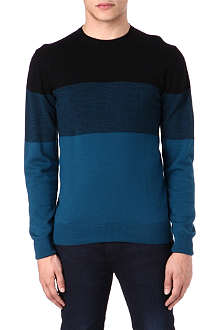PS BY PAUL SMITH Gradient stripe knit jumper