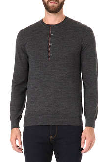 PS BY PAUL SMITH Henley spot detail jumper