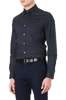 PS BY PAUL SMITH Tiny polka dot shirt