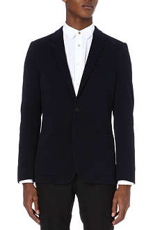 PS BY PAUL SMITH Single-breasted cotton pique jacket