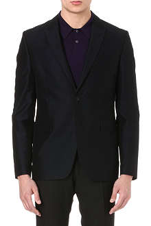 PS BY PAUL SMITH Single-breasted mohair-cotton blazer