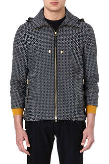 PS BY PAUL SMITH Geometric print short-sleeved jacket