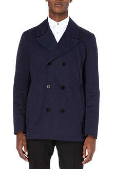 PS BY PAUL SMITH Cotton-blend pea jacket
