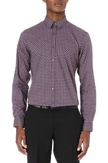 PS BY PAUL SMITH Geometric-print cotton shirt