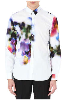 PS BY PAUL SMITH Blurred flower digital print shirt