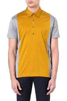 PS BY PAUL SMITH Panelled polo shirt