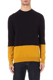 PS BY PAUL SMITH Colourblock knit jumper