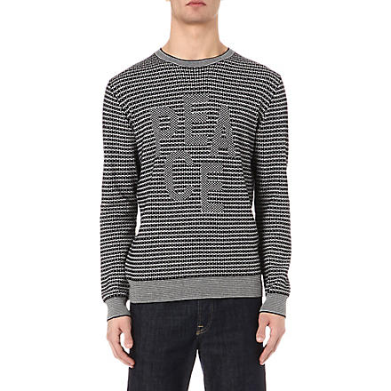 PS BY PAUL SMITH Peace jumper (Black