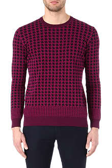 PS BY PAUL SMITH Giant houndstooth jumper