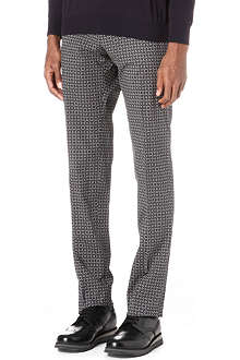 PS BY PAUL SMITH Geometric print trousers