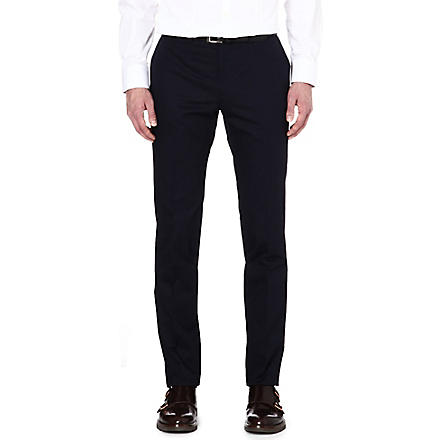 PS BY PAUL SMITH Slim-fit cotton chinos (Navy