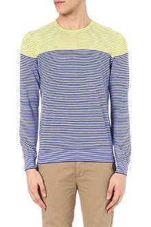 PS BY PAUL SMITH Colourblock stripe jumper