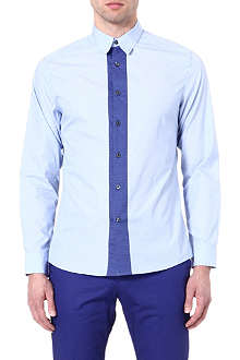 PS BY PAUL SMITH Satin dot placket shirt