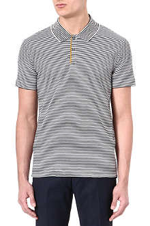 PS BY PAUL SMITH Mercerised-cotton striped polo shirt