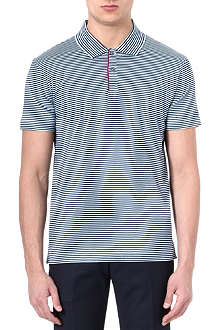 PS BY PAUL SMITH Mercerised-cotton stripe polo shirt