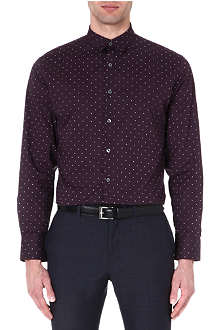 PS BY PAUL SMITH Star-print regular-fit shirt