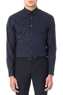 PS BY PAUL SMITH Star-print slim-fit shirt