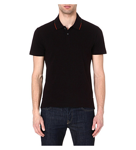 PS BY PAUL SMITH Cotton polo shirt (Navy