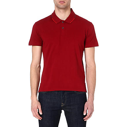 PS BY PAUL SMITH Cotton polo shirt (Red