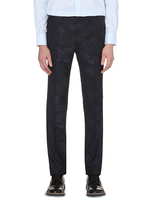 PS BY PAUL SMITH Wool camo trousers