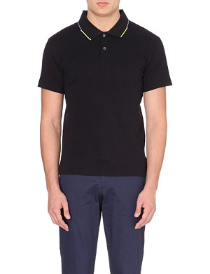 PS BY PAUL SMITH Polo shirt with contrast tip