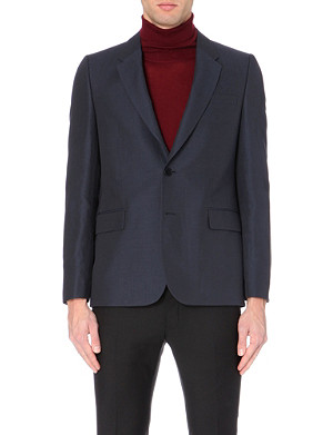 PS BY PAUL SMITH Buttoned-cuff cotton-blend jacket
