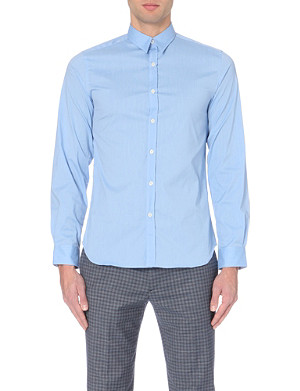 PS BY PAUL SMITH Slim-fit stretch cotton-blend shirt
