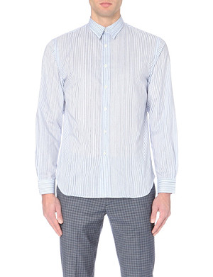 PS BY PAUL SMITH Regular-fit striped cotton shirt