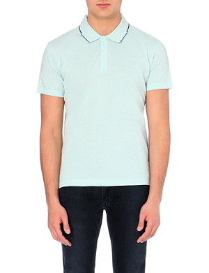 PS BY PAUL SMITH Mercirised cotton polo shirt