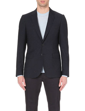 PS BY PAUL SMITH Flecked single-breasted wool jacket