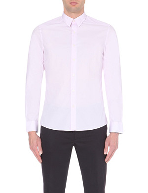 PS BY PAUL SMITH Slim-fit cotton-poplin shirt