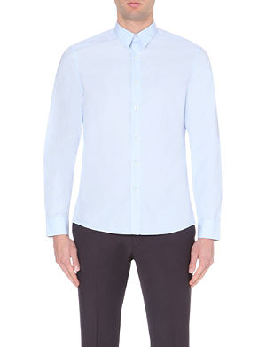 PS BY PAUL SMITH Slim-fit cotton-poplin shirt
