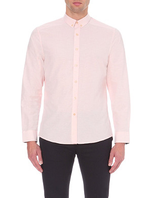PS BY PAUL SMITH Slim-fit cotton-blend shirt