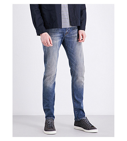 PS BY PAUL SMITH Slim-fit skinny jeans (Antique+wash