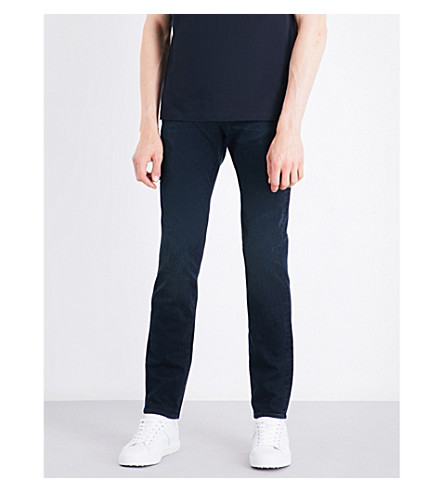 PS BY PAUL SMITH Slim-fit skinny jeans (Navy+blue