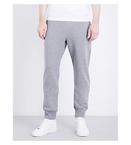 PS BY PAUL SMITH Bright waistband cotton-jersey track pants (Grey
