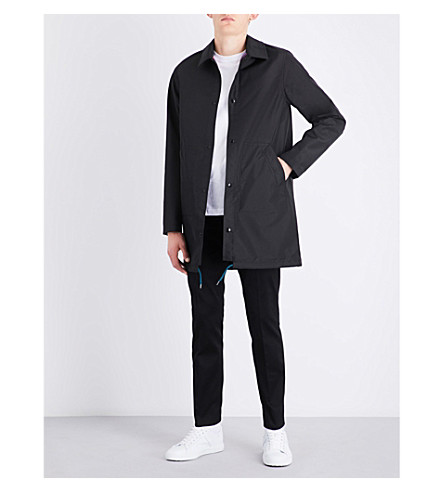 PS BY PAUL SMITH Reversible shell jacket (Black