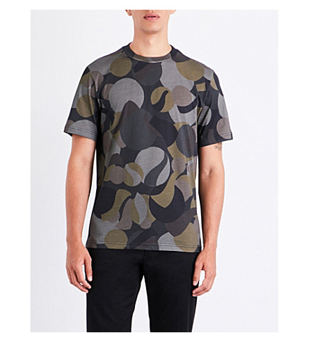 PS BY PAUL SMITH Camouflage cotton-jersey T-shirt (Camo