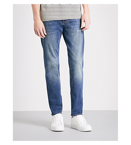PS BY PAUL SMITH Slim-fit tapered jeans (Antique