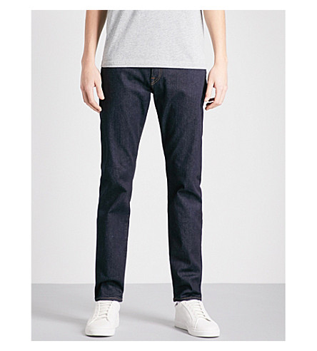 PS BY PAUL SMITH Tapered slim-fit jeans (Rinse