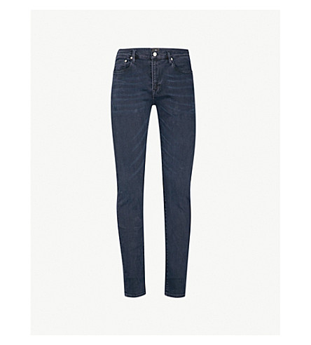 PS BY PAUL SMITH Tapered-fit straight jeans (Navy