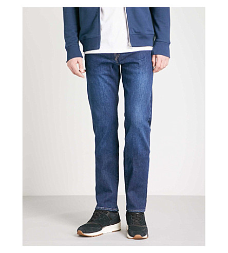 PS BY PAUL SMITH Regular-fit straight jeans (Mid+wash