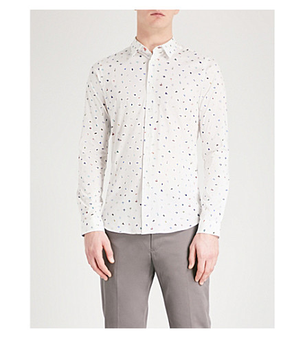 PS BY PAUL SMITH Mark Maker slim-fit shirt (White