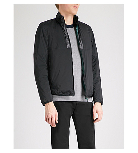PS BY PAUL SMITH Concealed-hood shell jacket (Black