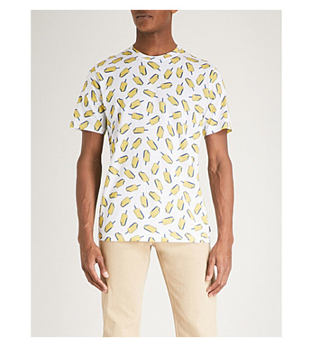 PS BY PAUL SMITH Ice lolly-print cotton-jersey T-shirt (White